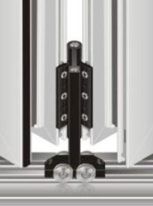 Aluminiumfönsterfran-Polen-Dragspelssystem