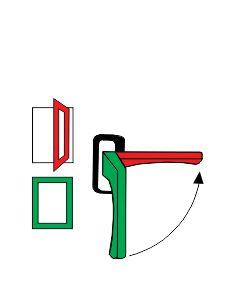 fonster-Öppningsbeslag